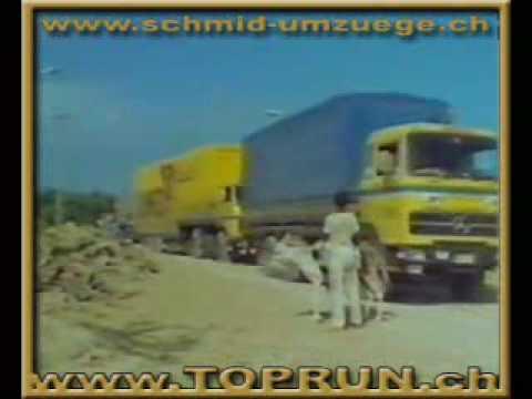 International Road transport Europe to Iran 1975