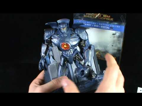 DVD Spot - Pacific RimHMV ExclusiveGipsy Danger Collector's Case Blu Ray