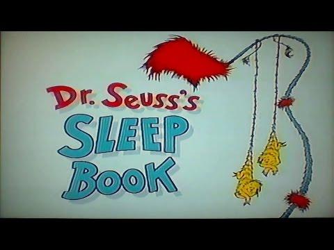Dr. Seuss's Sleep Book Read Along Aloud Story Book for Children Kids