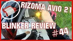 RIZOMA AVIO 21 Blinker Review + Random Stuff | MotoVlog #44