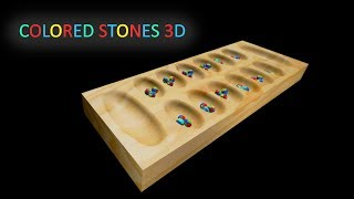 Colored Stones 3D