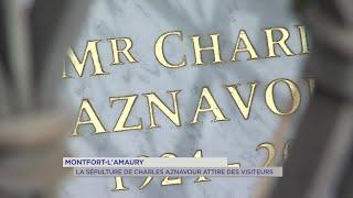 Yvelines | Montfort-L'Amaury : La sépulture de Charles Aznavour attire des visiteurs