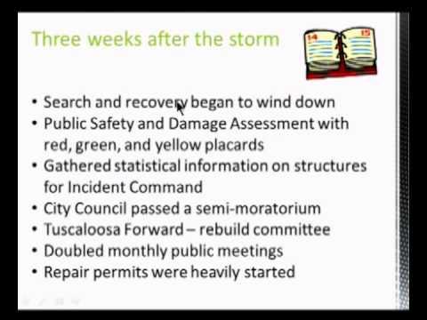 Tornado Symposium - Alan Boswell