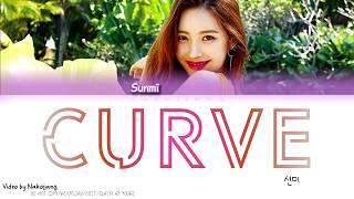 [3.29 MB] SUNMI (선미) - Curve (곡선) (Color Coded Lyrics Eng/Rom/Han)