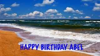 AbelEnglish pronunciation   Beaches Playas - Happy Birthday