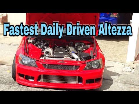 Fastest 1jzgte Toyota Altezza