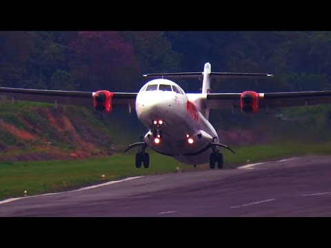 Wah Keren Nih! Take Off Pesawat ATR 72-500 Wings Air (Video Pesawat Terbang Indonesia)
