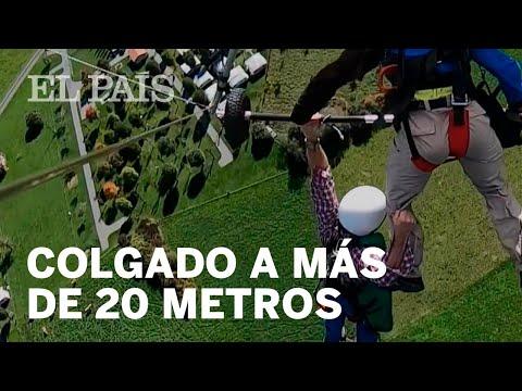 Super Martinez - Por Olvido Instructor Quedó Colgando y Pasa Susto