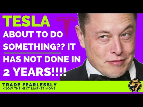 Stock Options: TSLA About to do something it has never done in 2 years! (SHOCKING)