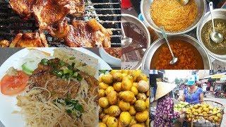Khu ẩm thực chợ Tôn Thất Thuyết q.4: Vui nhộn, Cơm tấm ngon, Chè hạt me dẻo, Bánh canh ngọt