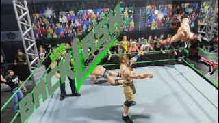 GCW Backlash 17 FULL SHOW   WWE FIGURES