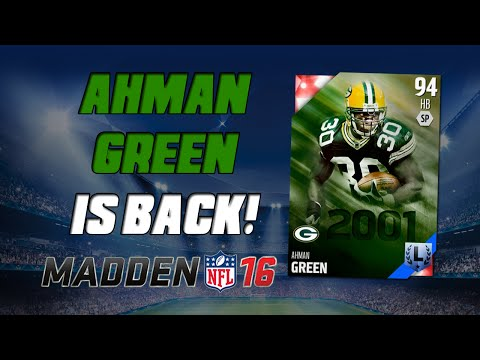 Ahman Green & Jeff Saturday Have Arrived! | Madden 16 Ultimate Team - BCA Pack Opening