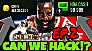 CAN WE HACK *NBA LIVE MOBILE 18 | MYTHBUSTERS EP.2 | NBA LIVE MOBILE 18