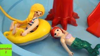 Arielle und Rapunzel im Aquapark Playmobil Film seratus1 Stop Motion