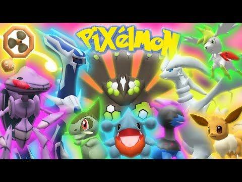 Pixelmon 6.0 Update Showcase ► PIXELMON IS BACK! ✦ 30+ NEW LEGENDARIES ✦  190+ NEW POKEMON!