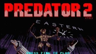 Predator 2 gameplay (PC Game, 1990)
