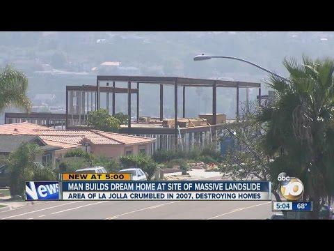 Download Youtube: Man building dream home at site of landslide