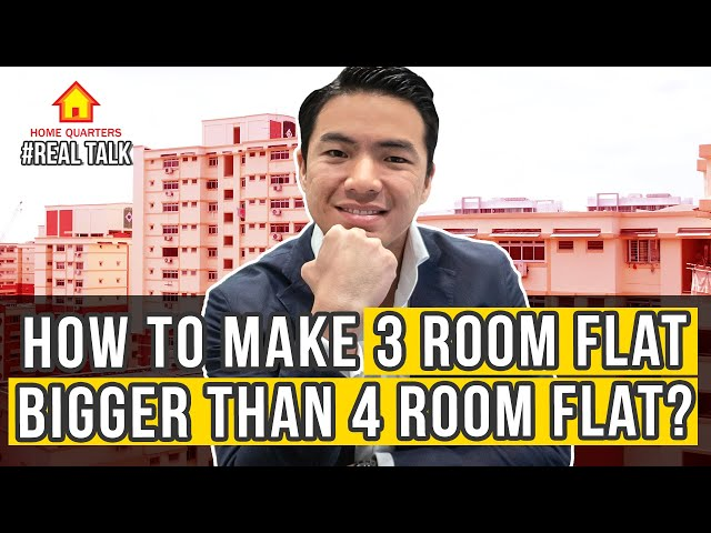 Resale HDB flat made bigger by paying! [Recess Area] | Real Talk Ep32