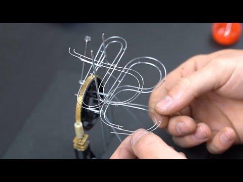 Making A Miniature Marble Machine!