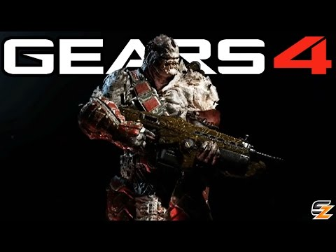 Gears of War 4 - All Launch Weapon Skins & Gear Packs! (Characters, Emblems, Bounty
