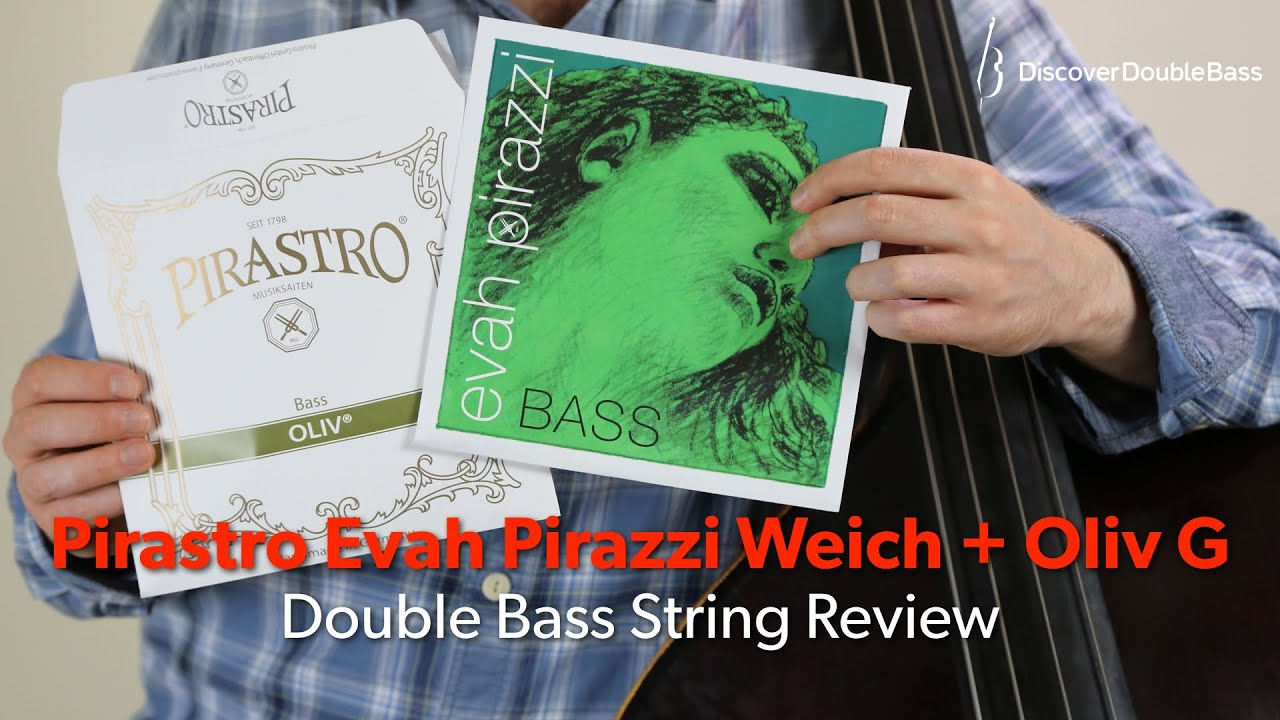 Pirastro Evah Pirazzi 3//4 Size Double Bass Strings 3//4 Size G String