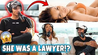 LAWYER TURNED MODEL! Why She QUIT Her Job & How Her HUSBAND Feels!