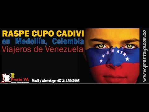 RASPAR Cupo CADIVI - CENCOEX de Venezuela en medellín Colombia - Prestaya Medellin de YouTube · Duración:  2 minutos 8 segundos