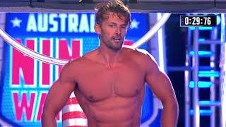 Tim Robards Full Run | Australian Ninja Warrior 2017