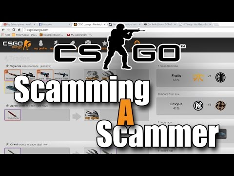 CS GO Scamming A Scammer!!!