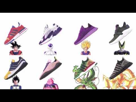 Dragon Ball Z x Adidas Collection