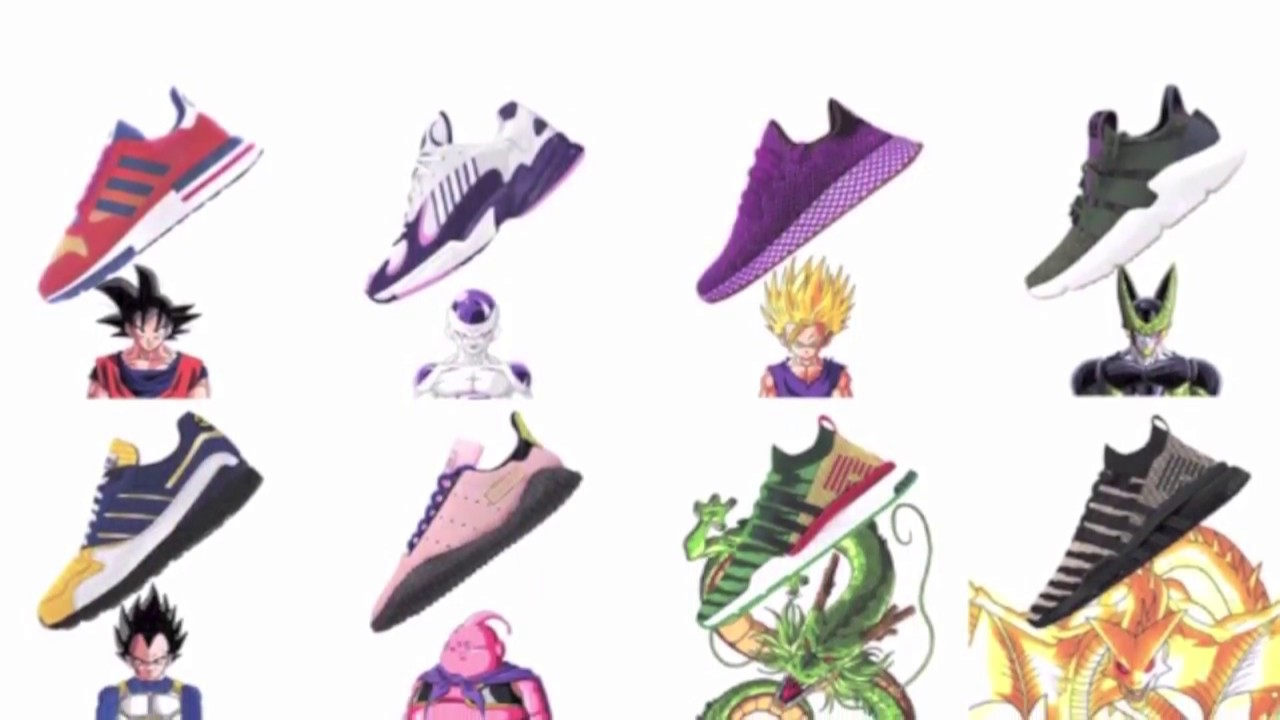 new style 9392a e1674 Dragon Ball Z x Adidas Collection Ranked From Worst To Best