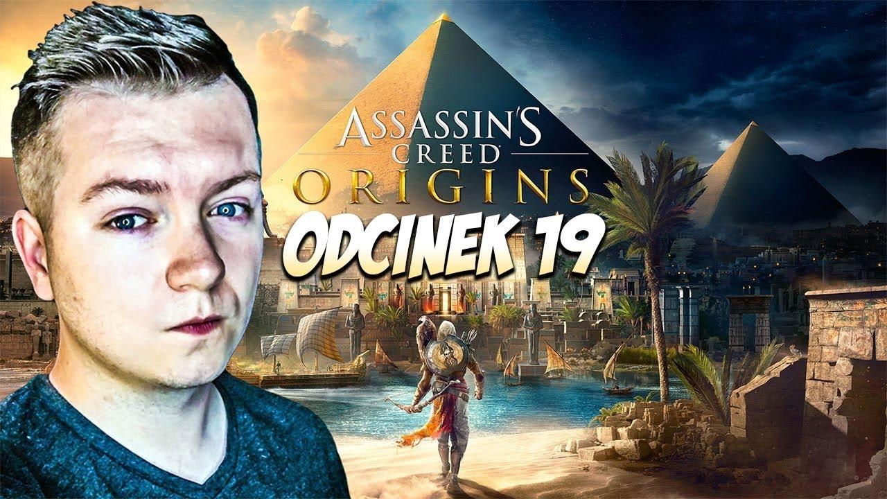 POSZUKIWANIA KROKODYLA! Assassin's Creed Origins PL #19   PC 1080p60fps   Vertez