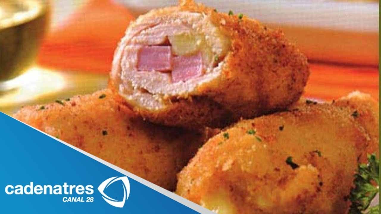 Recetas De Cocina Con Huevo   Receta De Rollitos De Huevo Y Tocino Receta De Como Preparar