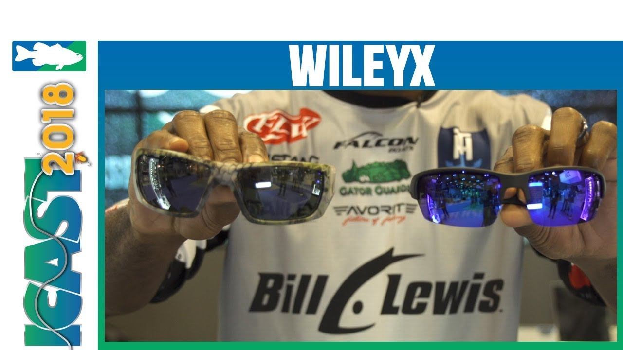 5bc10d2d6b ICAST 2018 Videos - WileyX Nash Kryptek Sunglasses   Polar Blue Mirror Lens
