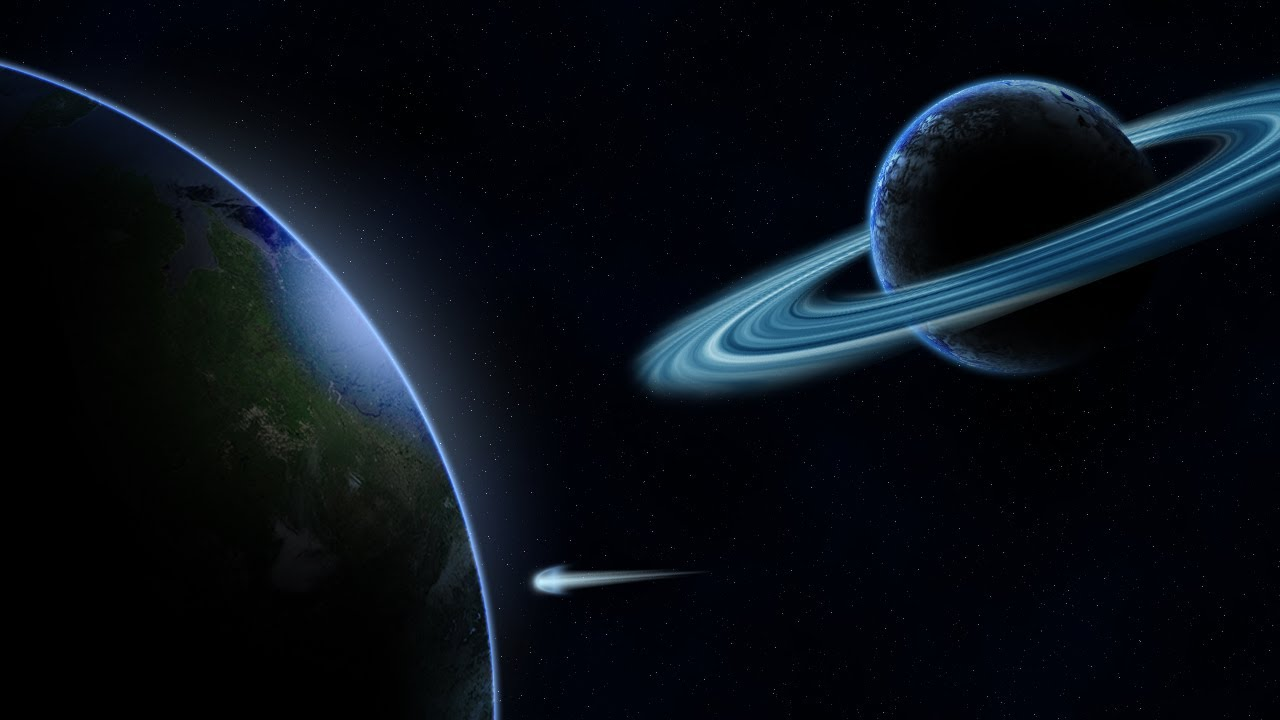 Outer space planet scene hd photoshop tutorial youtube for Outer space scene