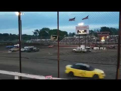 Macon Speedway 05-18-2019 Heat 2 Ken Reed & Billy Mason