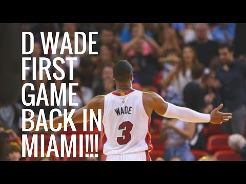 Reacting To Dwyane Wade's First Game Back With Heat