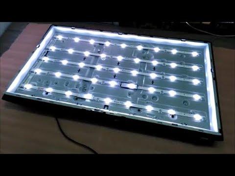 Самостоятельный ремонт LED подсветки тв Samsung UE32F5500!