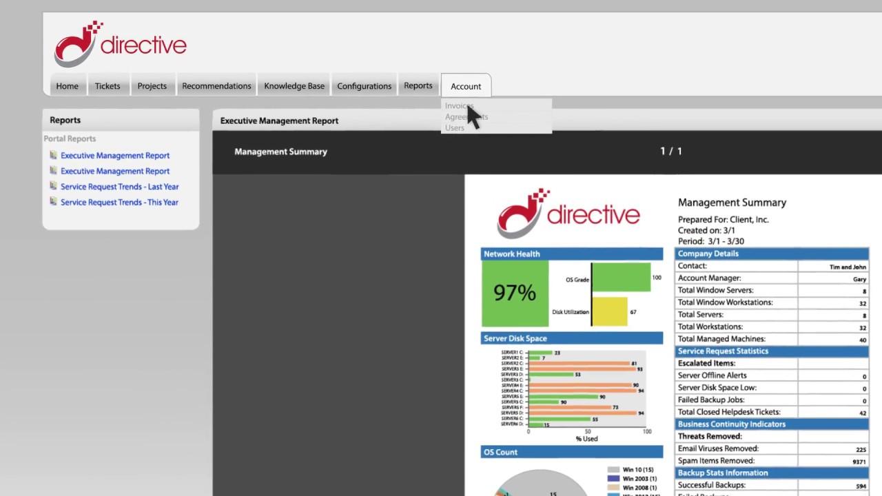 Learn Directive's Customer Portal!