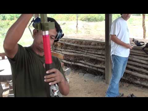 Shooting RPGs with the Cambodian Army Phnom Penh