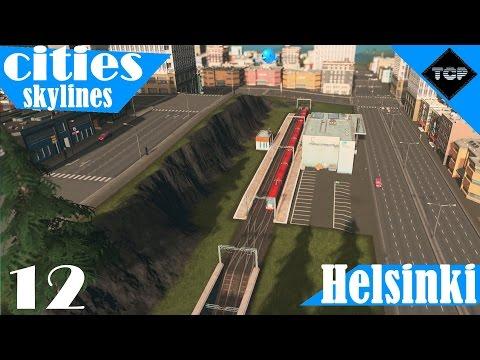 Cities: Skylines   Helsinki - Osa 12   Juna-asemia ja alueiden nimeämisiä!