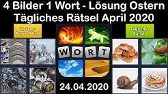 4 Bilder 1 Wort - Ostern - 24.04.2020 - April 2020 Tägliches Rätsel + Tägliches Bonus Rätsel
