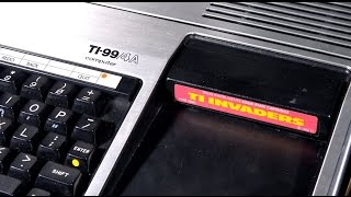 Classic Game Room - TI INVADERS review for TI-99
