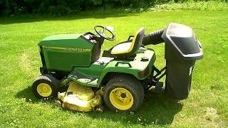 John Deere 425 Lawn Garden Mower LOT 2458A For Sale in Parts