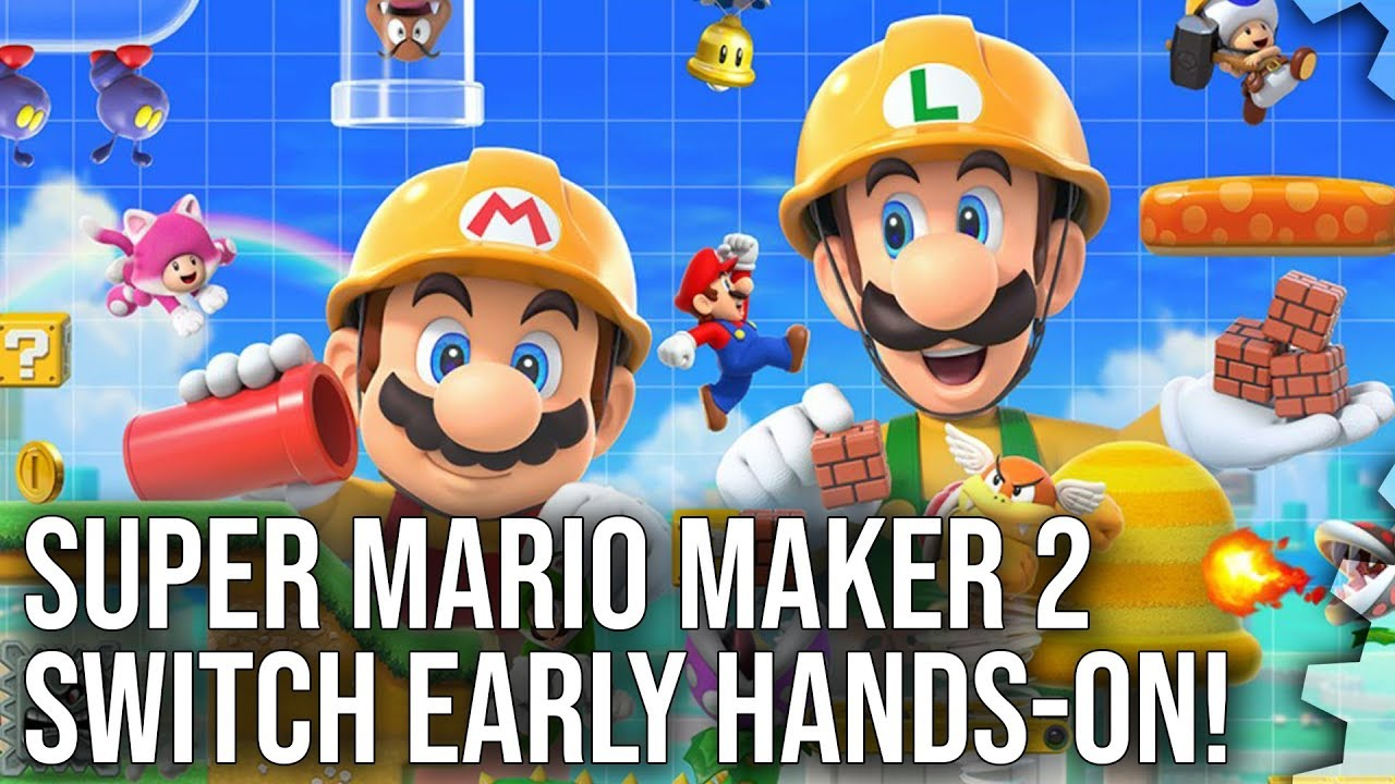 Super Mario Maker 2: how Nintendo's switching up its DIY