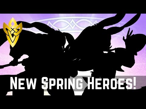 New Spring Heroes - Discussion & Theory-crafting Time! | FEH News 【Fire Emblem Heroes】