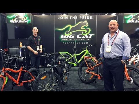 2017 Big Cat Electric Bike Updates from Interbike
