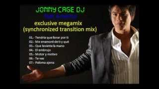 CUMBIAS CHILENAS MIX -- jonny cage dj feat americo - exclusive megamix (synchronized transition mix)
