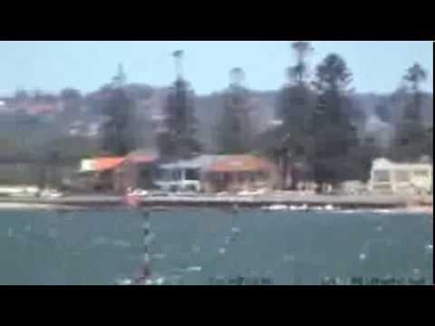 View of Botany Bay, filmed at Brighton - Part 2 - Sydney Australia