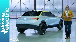 New 2019 electric Vauxhall Corsa concept driven  - DrivingElectric